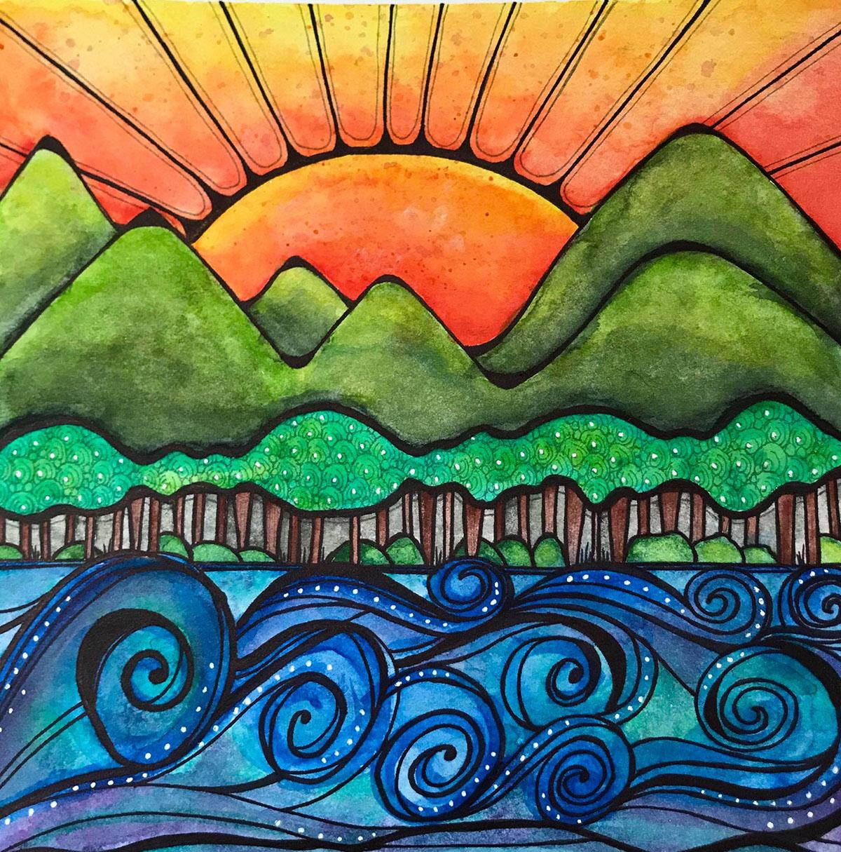 Watercolor - Alice Hendon - Doodlewash