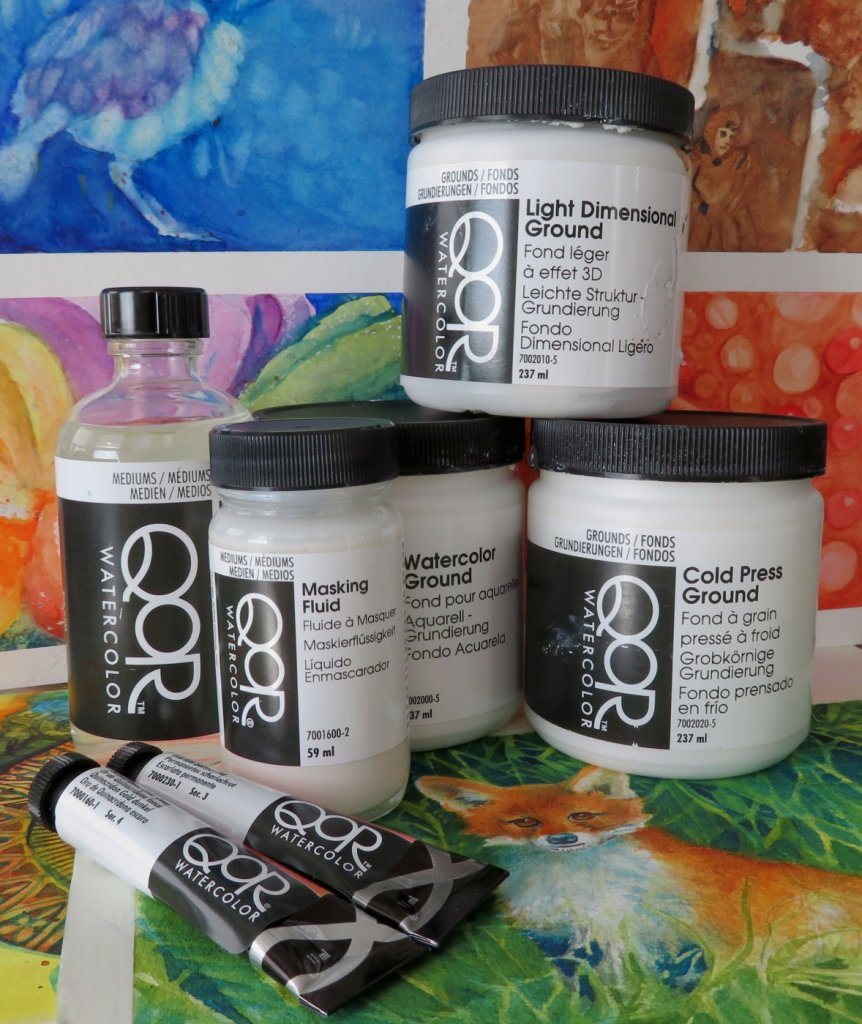 QoR Watercolor Review QoR Grounds Masking Fluid