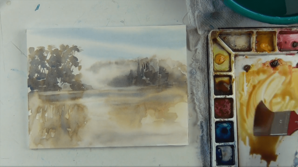 Atmospheric Landscapes With Birgit O'Connor class example