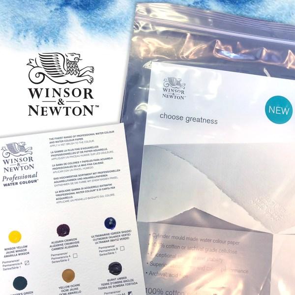 Winsor & Newton Free Sample Professional Watercolor
