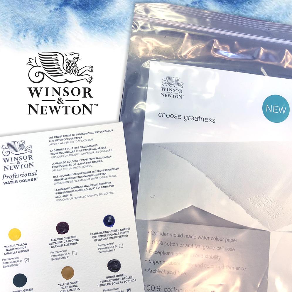Doodlewash® ~ Winsor & Newton Professional Watercolour Sample Kit
