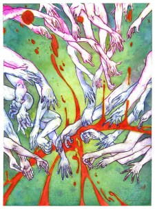 The Reach - Art by Karolina Szablewska - Doodlewash