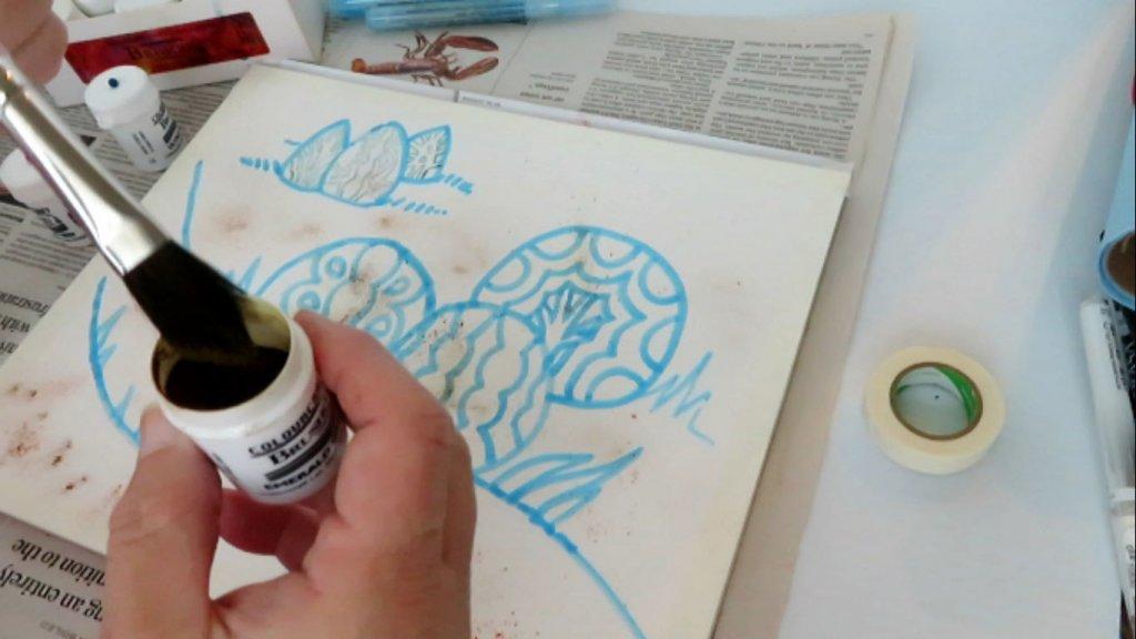 Brusho Color Crystal - Adding Water - Doodlewash
