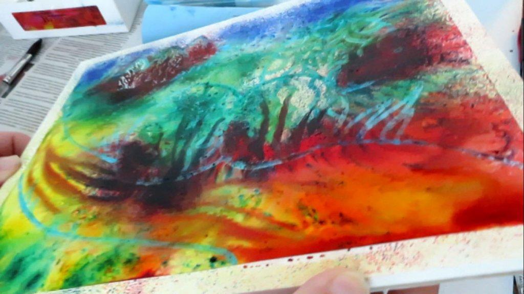 Brusho Color Crystal - Blending Color - Doodlewash