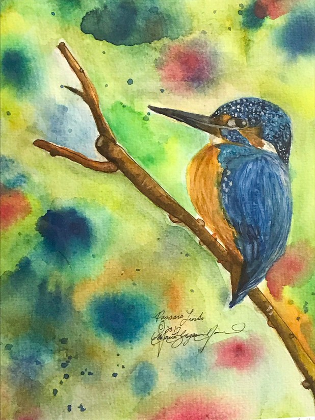 Watercolor Painting by Maria Navarro - Doodlewash