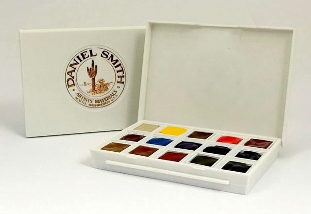 Daniel Smith Half Pan Ultimate Mixing Set Product Photo
