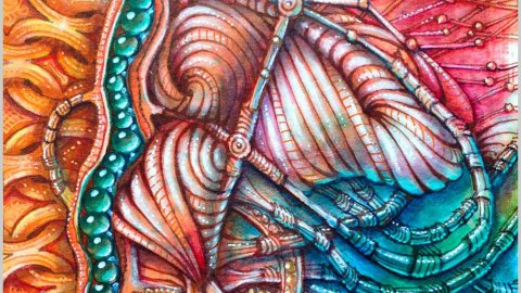 Zentangle Art by Eni Oken - Doodlewash