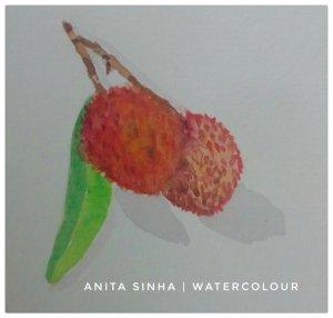 #Litchis #fruit study #doodlewash #WorldWatercolorGroup IMG_20180924_070219_644-02