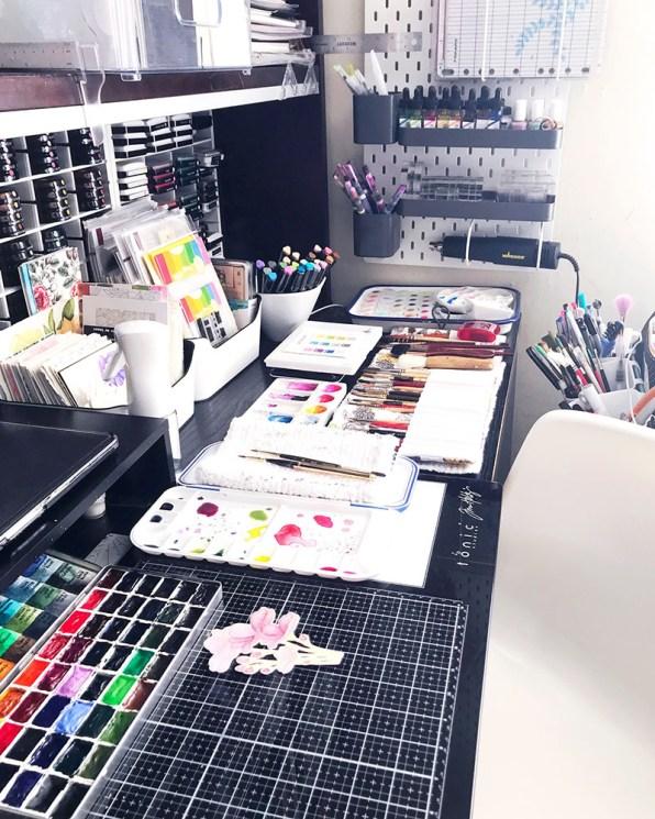 Art Studio Of Rubeena Ianigro - Doodlewash