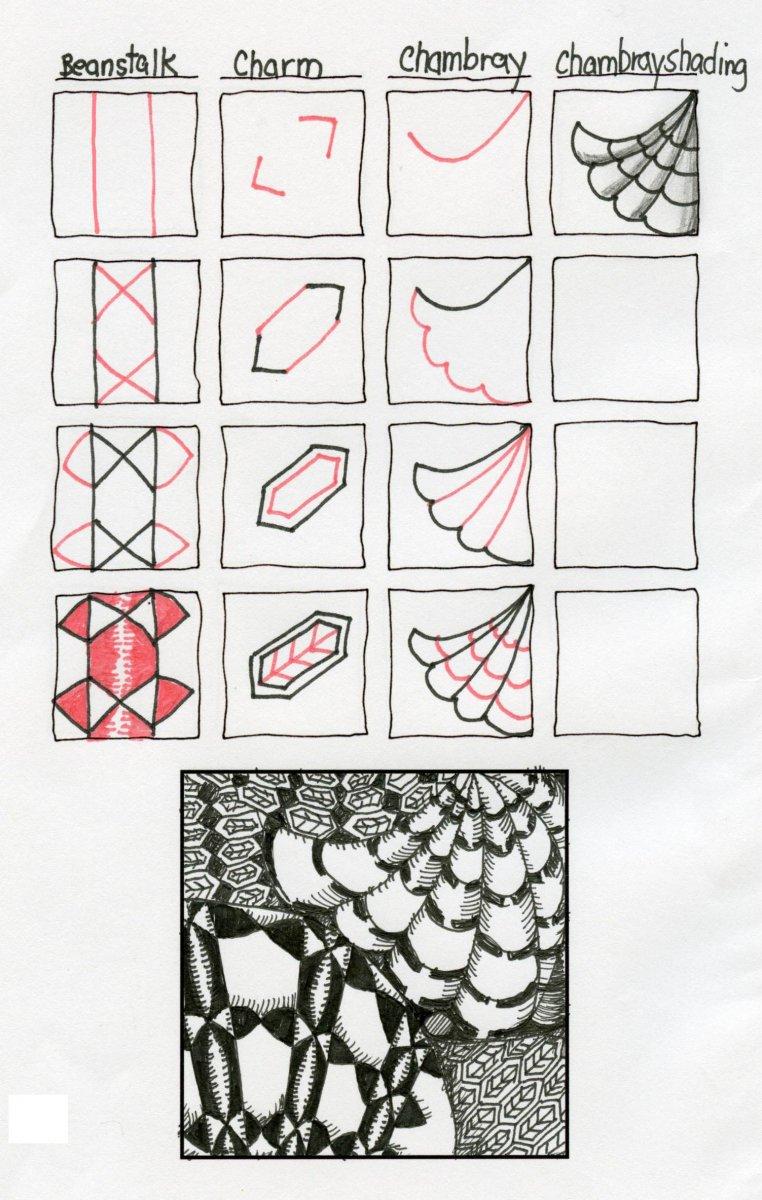Tangle Patterns Example - Doodlewash