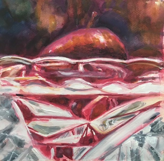 Painting by Kathy Delumpa Allegri - Doodlewash