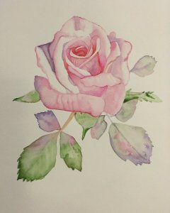 I have done this rose with Louise de Masi on Skillshare, I can highly recommend her classes. http://