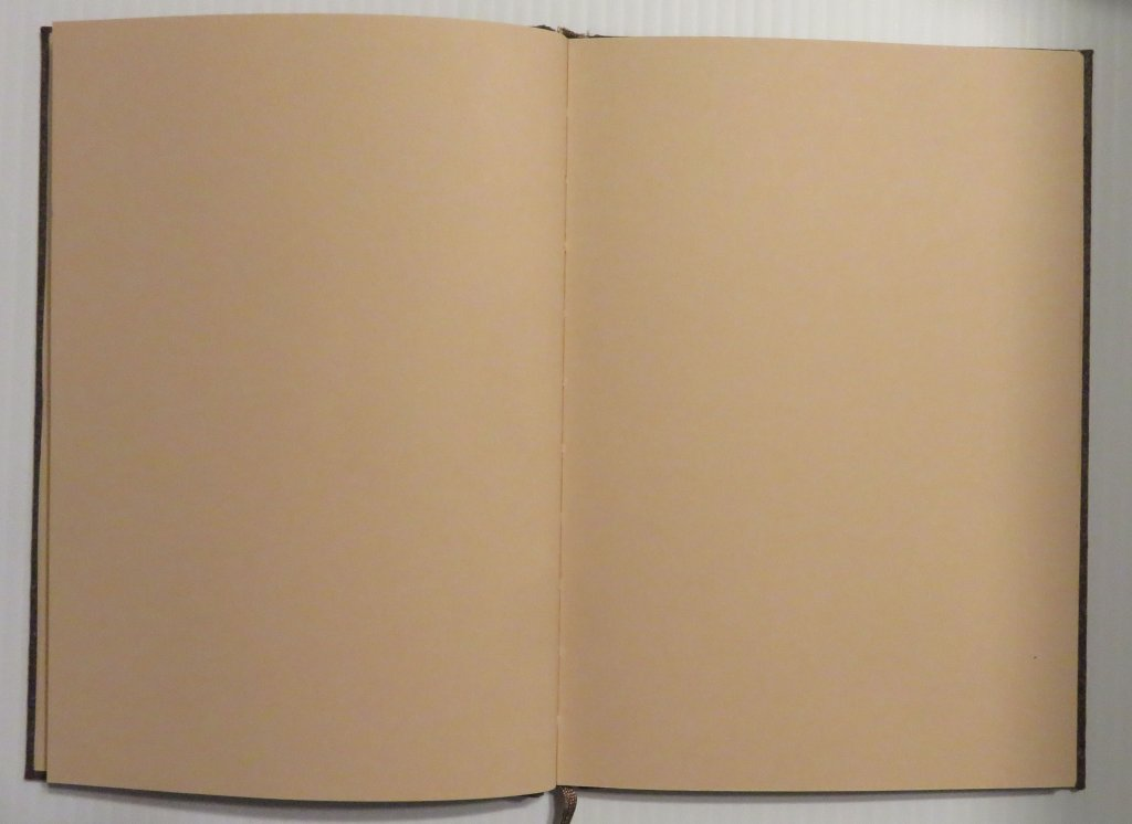 Hahnemühle Cappuccino Book Interior Photo - Doodlewash