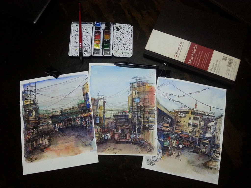 Watercolors by Aliver Escano - Doodlewash