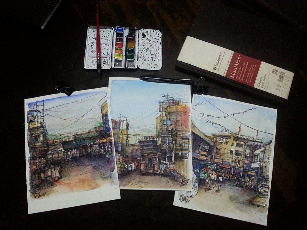 Watercolors by Aliver Escano - Doodlewash