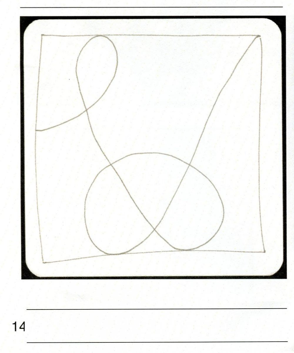 Zentangle String Getting Started Example - Doodlewash