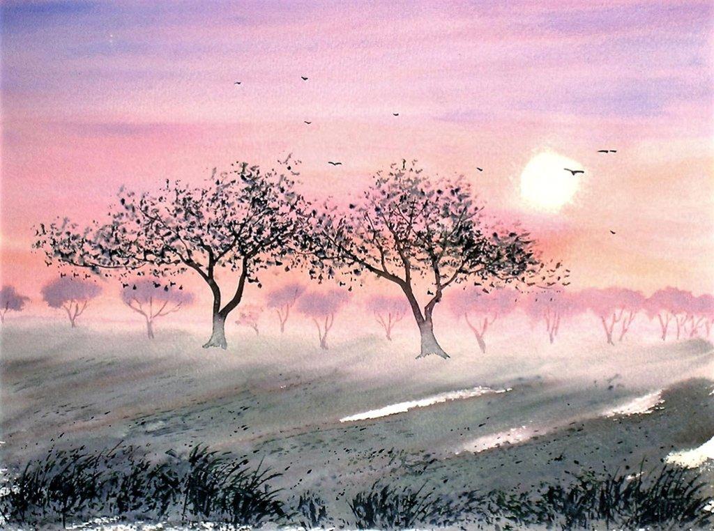 Watercolor by Thomas Mühlbauer - Doodlewash