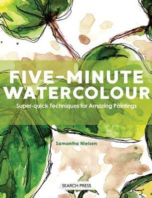 5 Minute Watercolor Alternate Book Cover Design - Doodlewash