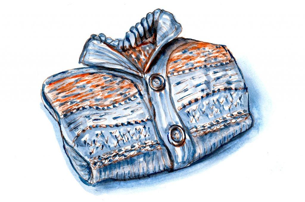 Day 6 - Sweater Season Watercolor - Doodlewash