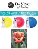 Jane Blundell Color Wheel Da Vinci Watercolor Trio