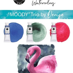 Denise Soden Moody Da Vinci Watercolor Trio