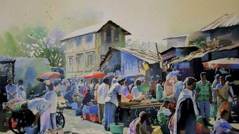 Watercolour Painting by Vikas Patnekar - Doodlewash