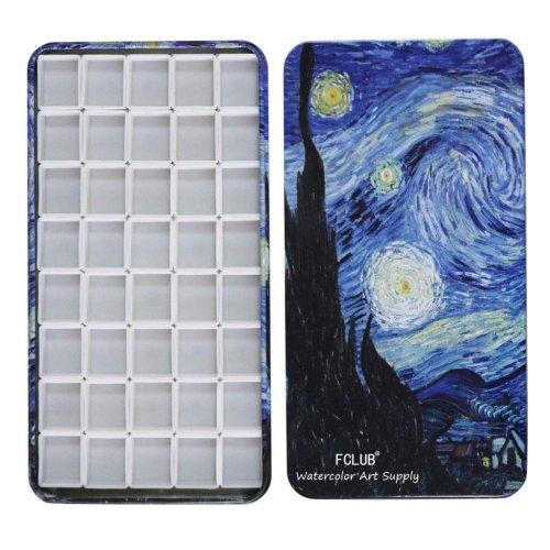 Paint Storage Tin Starry Night