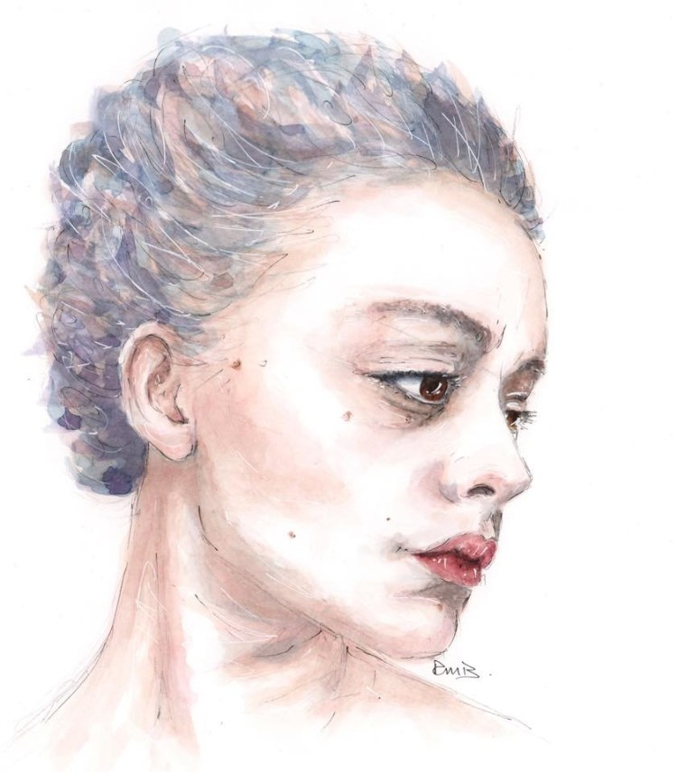One of the first portraits I painted. 'Hannah' EA666D53-1F13-4841-B16A-4AC2414F6228