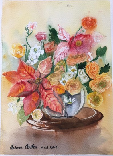Flowers Watercolor by Carmen Costea - Doodlewash