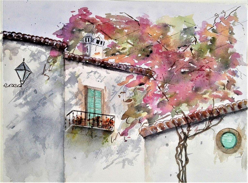 Watercolor Painting by Margarida Rebelo - Doodlewash
