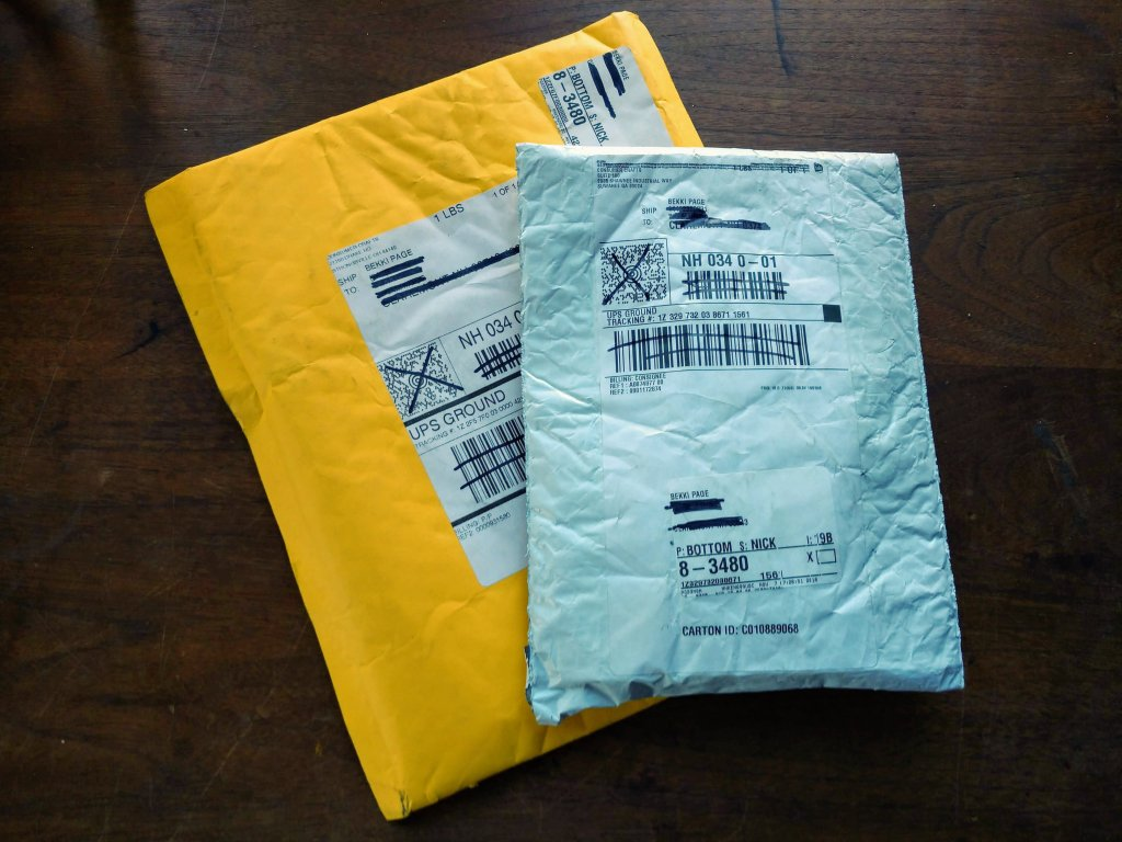 Shipping Package from ConsumerCrafts.com