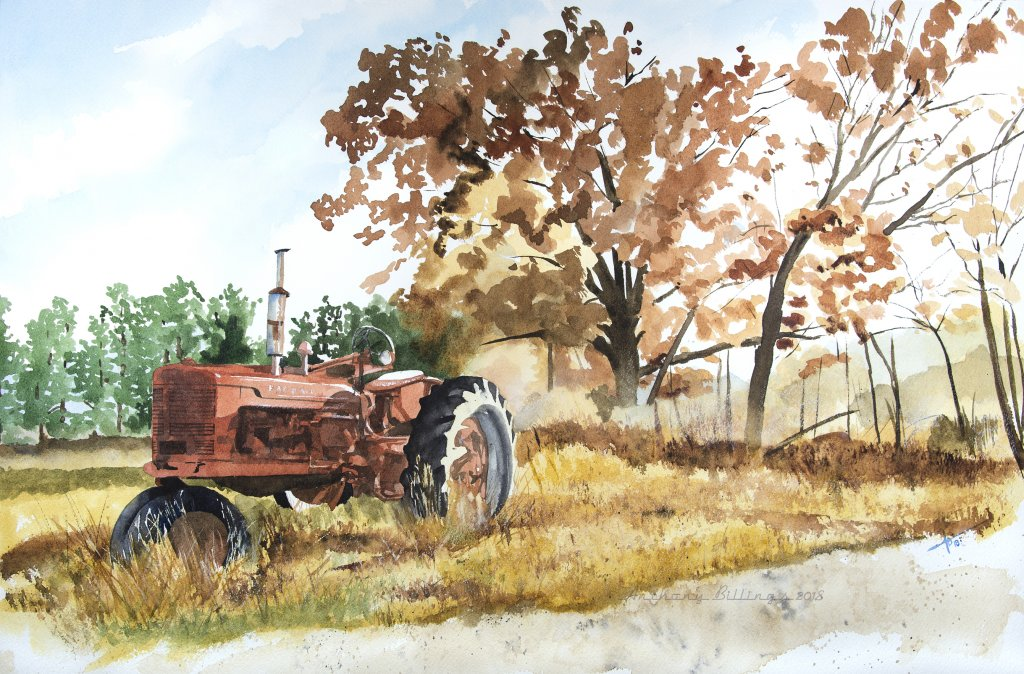 Peterson's Farmall – watercolor PetersonsFarmall_web