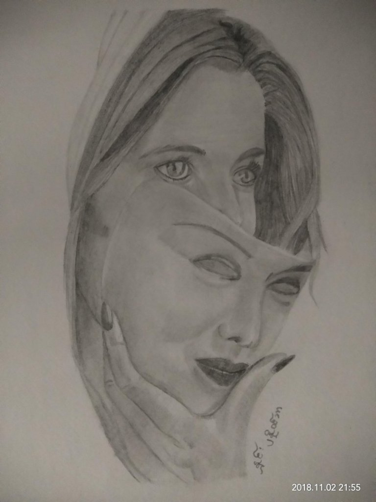 #My Practice #By Graphite 6B,4B,2B,B,3H,6H #2Nov2018 #warmly welcome all your advice gplus1077818696