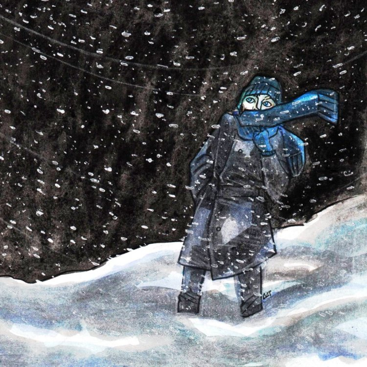 Doodlewash ▪ December ▪ Day 26: Snow Dee. 26 snow