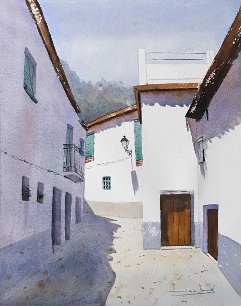 Andalucía Watercolor by Teresa Santos - Doodlewash