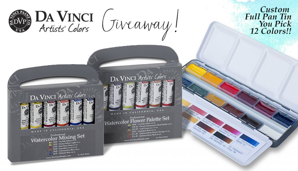 Da Vinci Paint Co December 2018 Giveaway Sharing Image