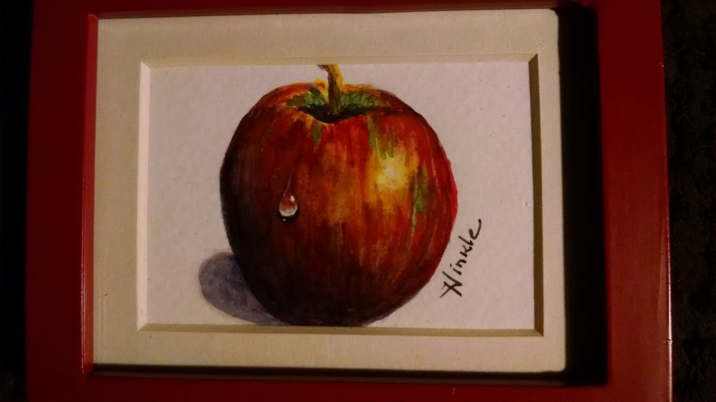 This is one of my favorite little paintings. At the time I painted it I didn't know you were s