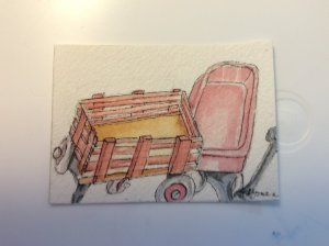 ATC – Little Red Wagons Little Red Wagons