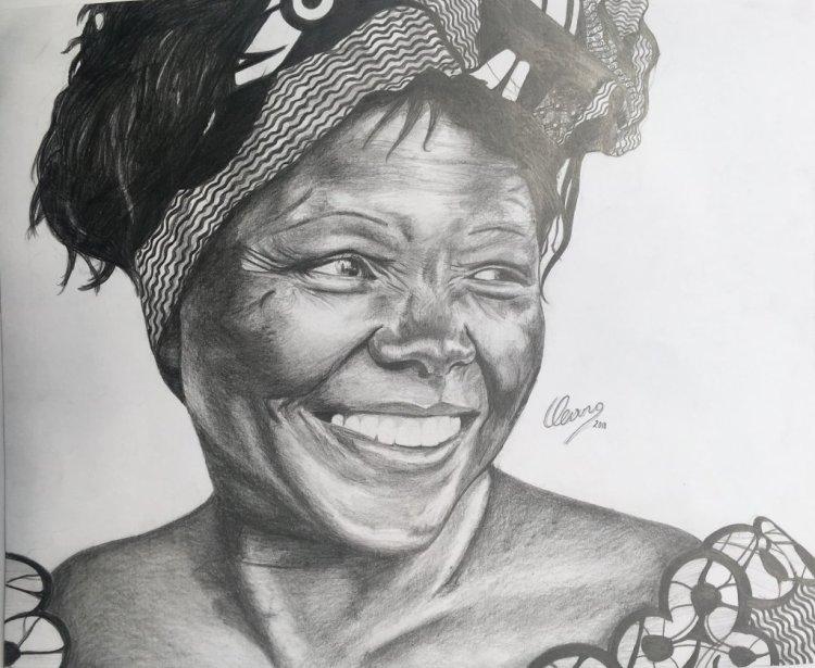 Wangari Maathai ♥️ #doodlewashjanuary2019D86A14B0-1F66-48EC-9484-2426FC6D07A3