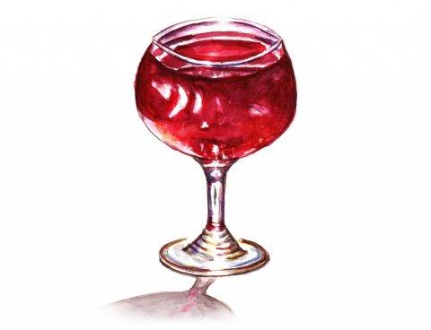 Day 19 - A Balloon Of Wine Vin Paris - Doodlewash
