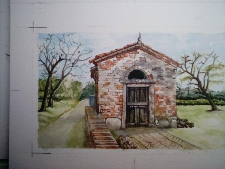 Poshest garden shed ever – near Venice IMG_20180318_160717