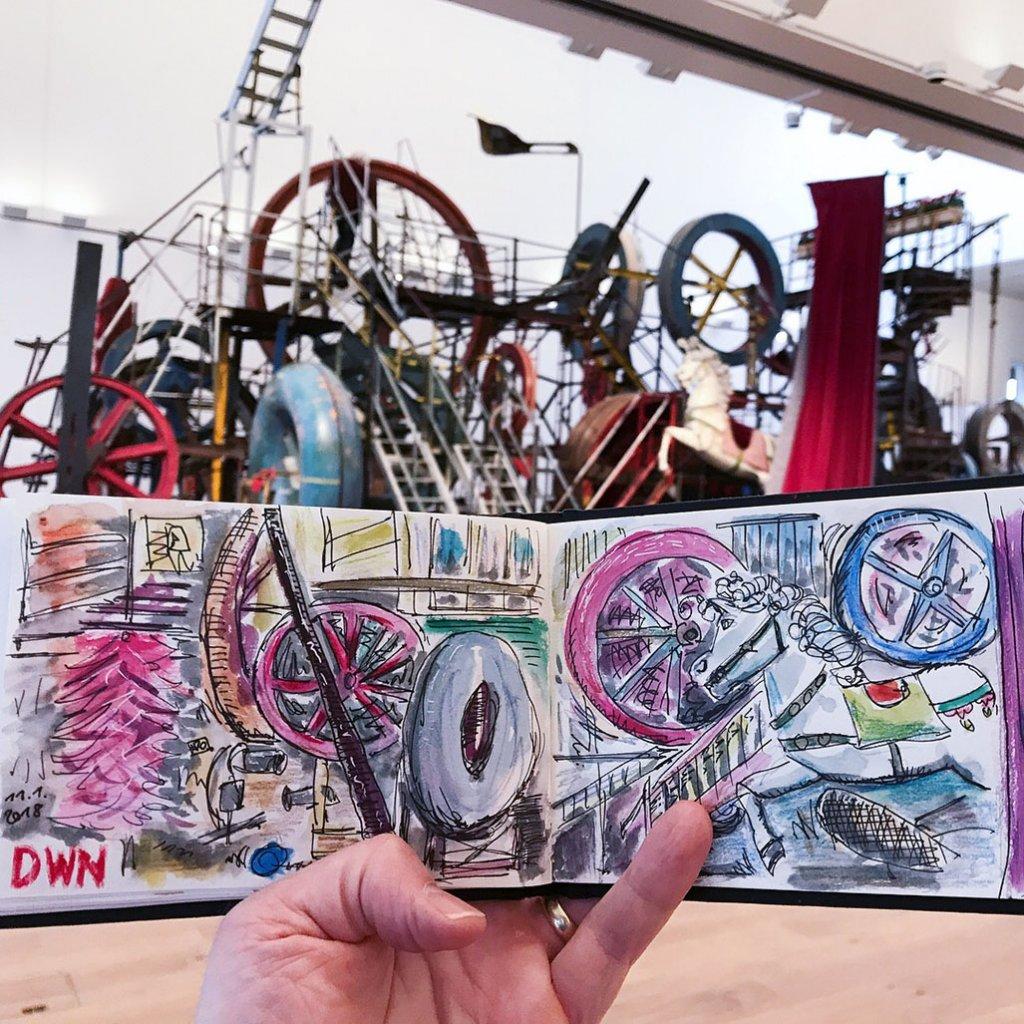 Urban Sketchers Sketching Example Dominik Neuffer 04 - Doodlewash