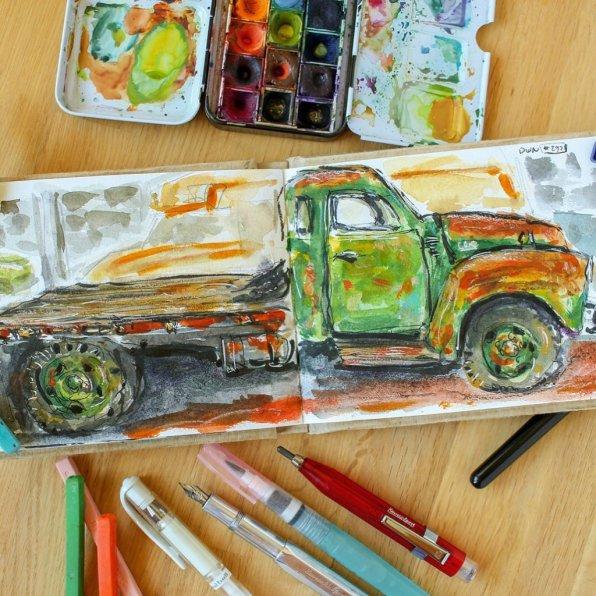Urban Sketchers Sketching Example Dominik Neuffer 13 - Doodlewash