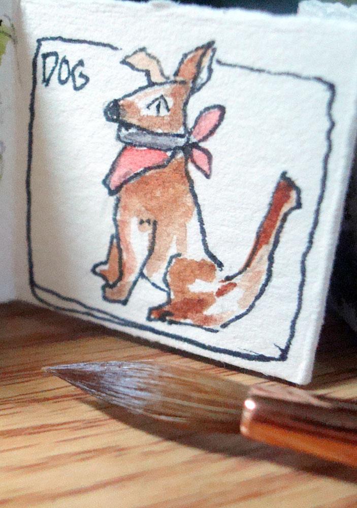 2/20/19 Dog An imaginary mini dog. 2.21.19 Dog mini DSC09355