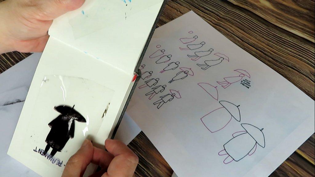 Using Acetate to Test Drawings - Doodlewash