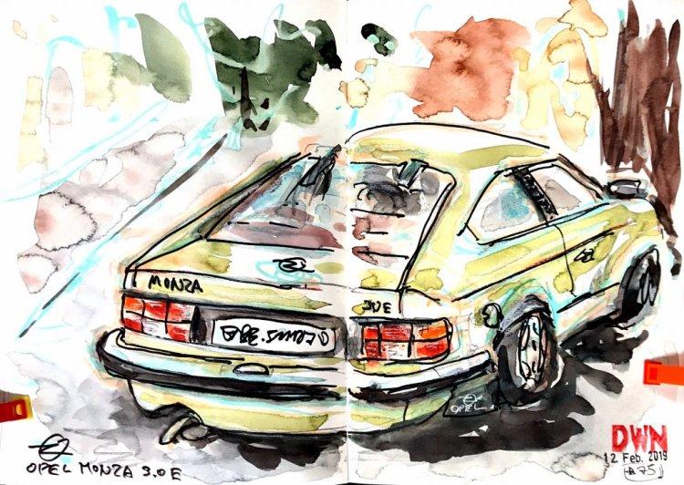 Found an old Opel Monza 😲 B1F3F81B-D769-4BE9-A5FC-EC3962DB61C3