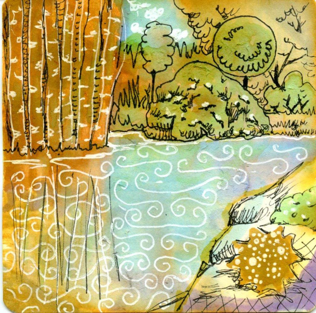 Limited Palette Painting Landscape