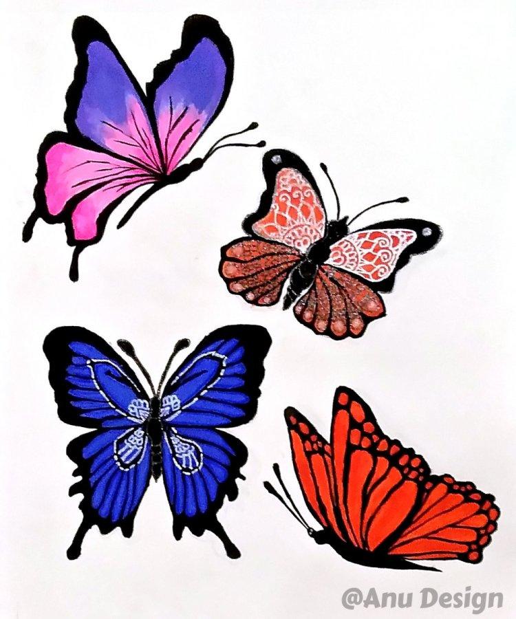 Fly like butterfly butterfly