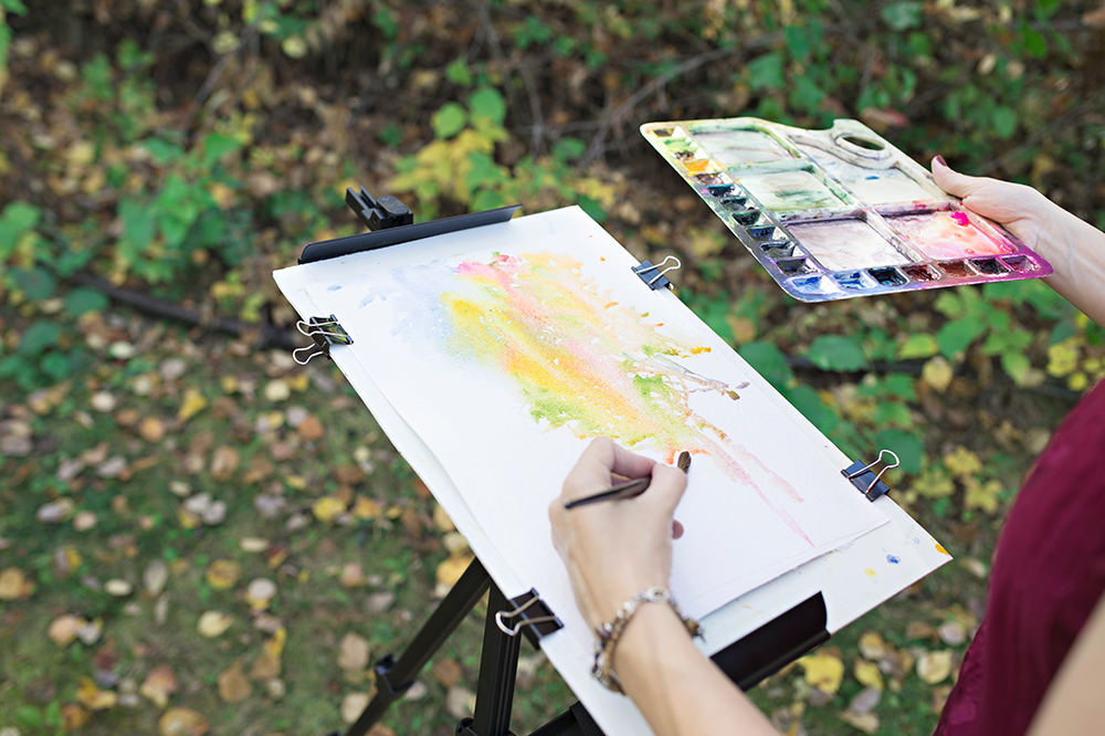 Getting Worse At Painting Instead of Better The Obstacle Cycle by Angela Fehr