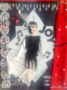 Paper doll collage called The Flapper FullSizeRender